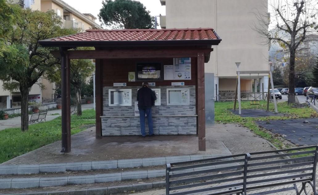 Attivito monitor Casa dell'acqua a Cava de' Tirreni